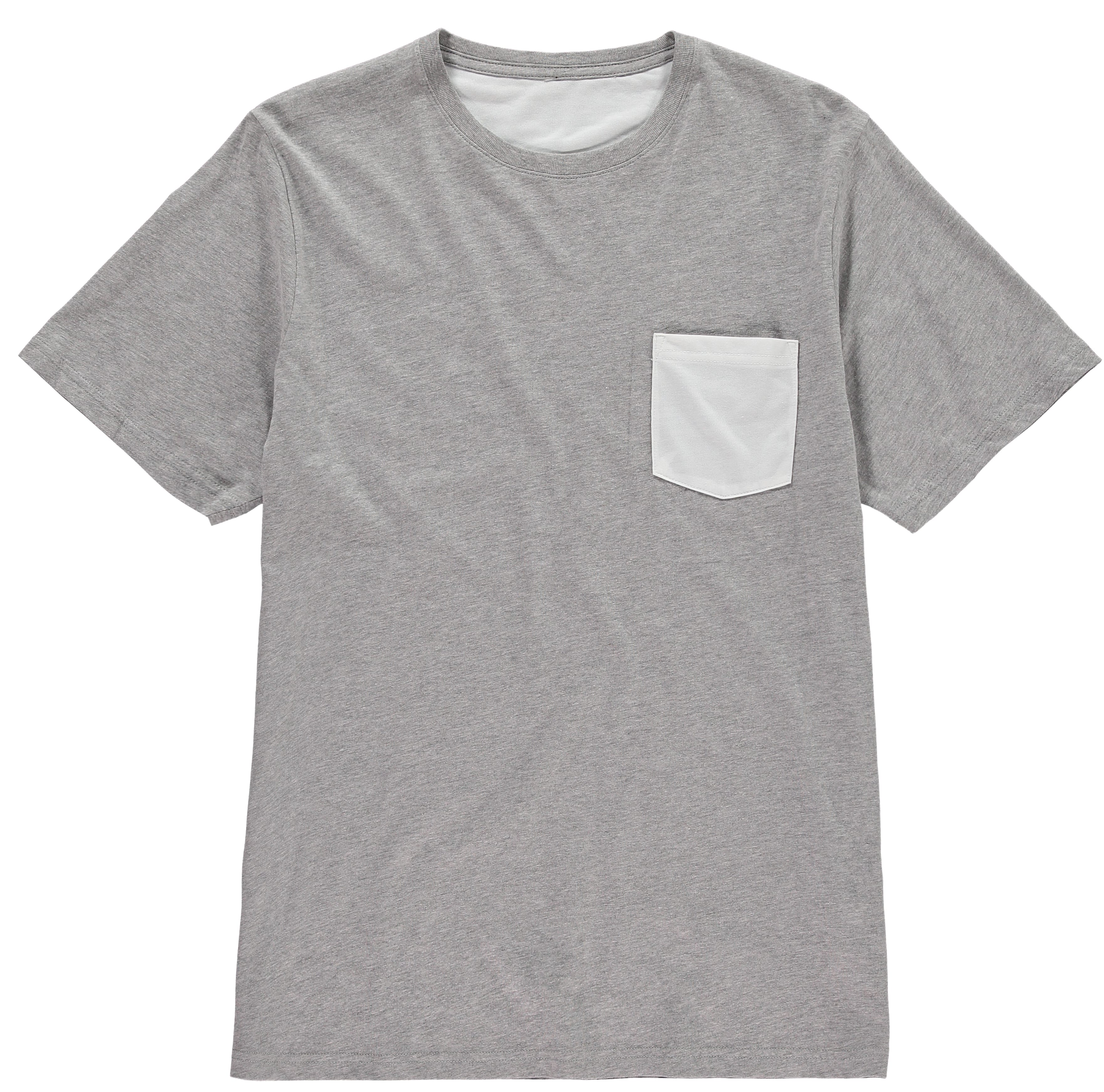 Pocket Short Sleeve Crew Neck T
