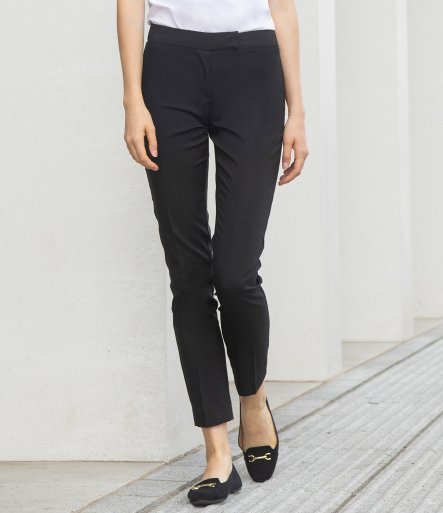 Henbury Tapered Leg Trousers